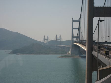 Tsing Ma Bridge Map