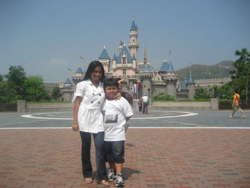 HK Disneyland Fantasyland, Sleeping Beauty Castle