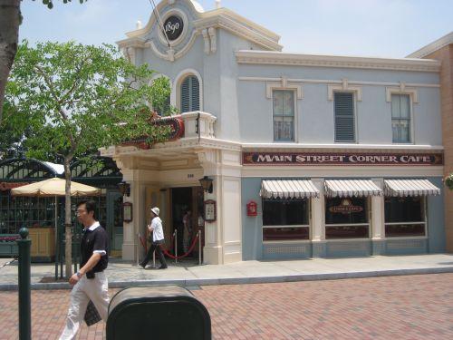 Hong Kong Disneyland Main Street USA Corner Cafe