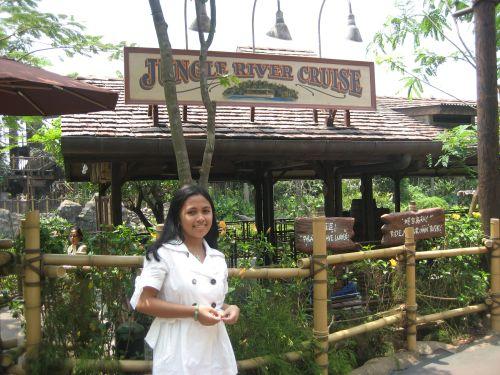 Hong Kong Disneyland Pirateland Jungle River Cruise