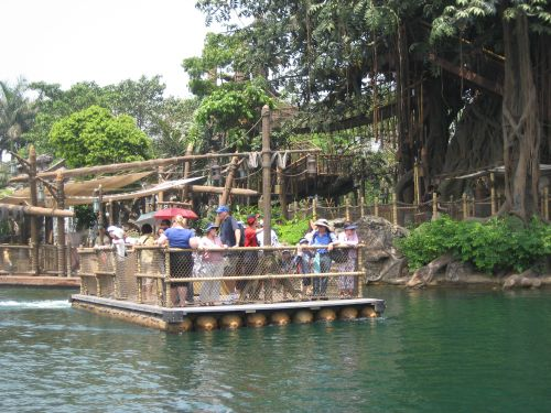 Hong Kong Disneyland Pirateland