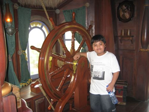 Lantau island disneyland Pirateland Tarzan Treehouse