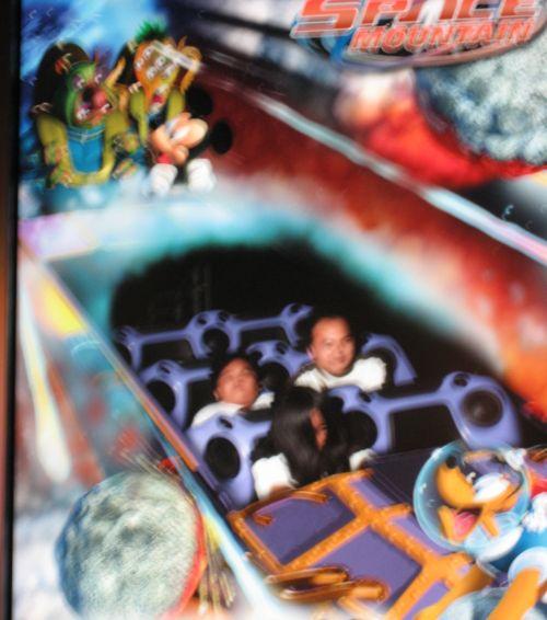 HK Disneyland Tomorrowland Space Mountain