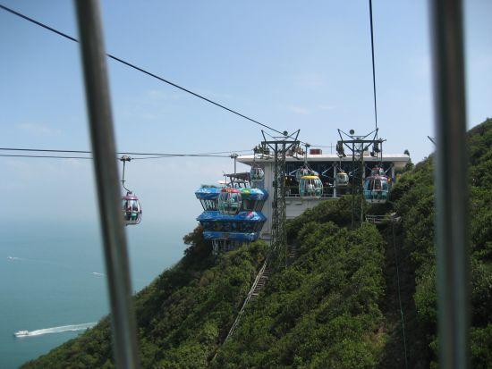 ocean park cable car, headland station
