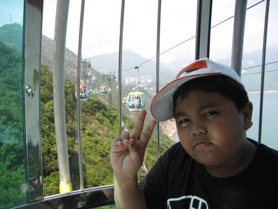 ocean park cable car views
