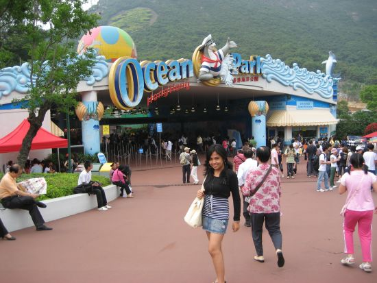 Ocean Park Entrance, Hong Kong