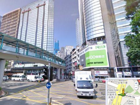 Ramada Kowloon Hotel, map