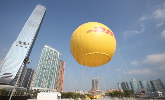 the DHL Hong Kong Balloon