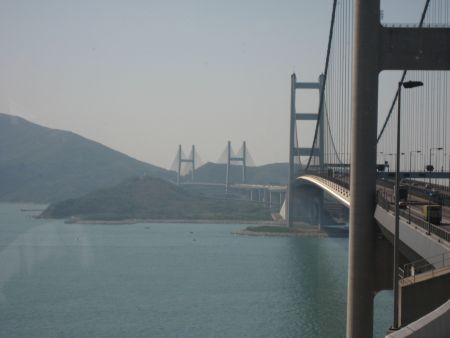 Tsing Ma Bridge Map