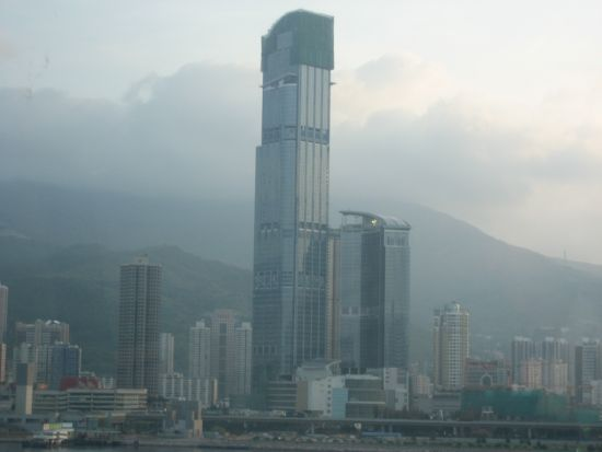 Views-in-the-Bus-from-HKIA-HK-city