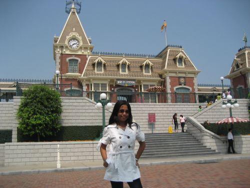 Hong Kong Disneyland Main Street USA Railroad Station