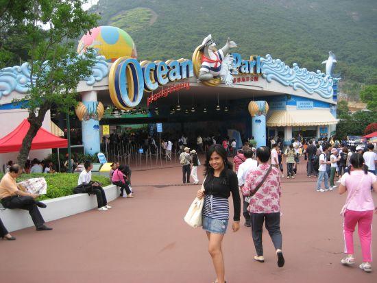 Ocean Park Entrance, Hong Kong