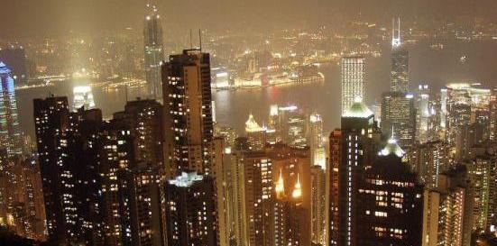 The Hong Kong Victoria Peak - Harbor View